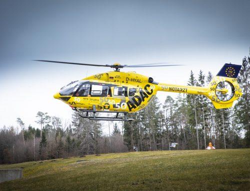 Hubschrauber auf Uniklinik-Dach: ADAC zieht Bilanz